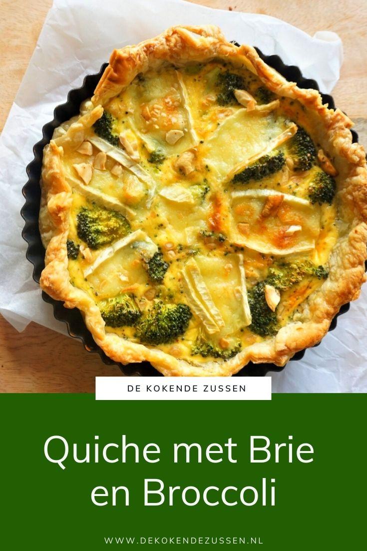 Quiche met Brie en Broccoli