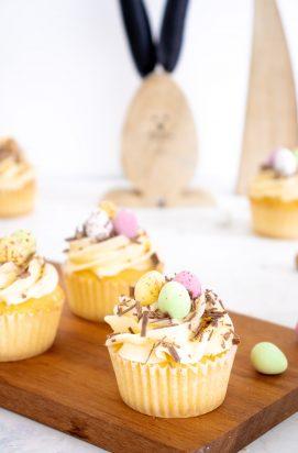 Vanille Paascupcakes
