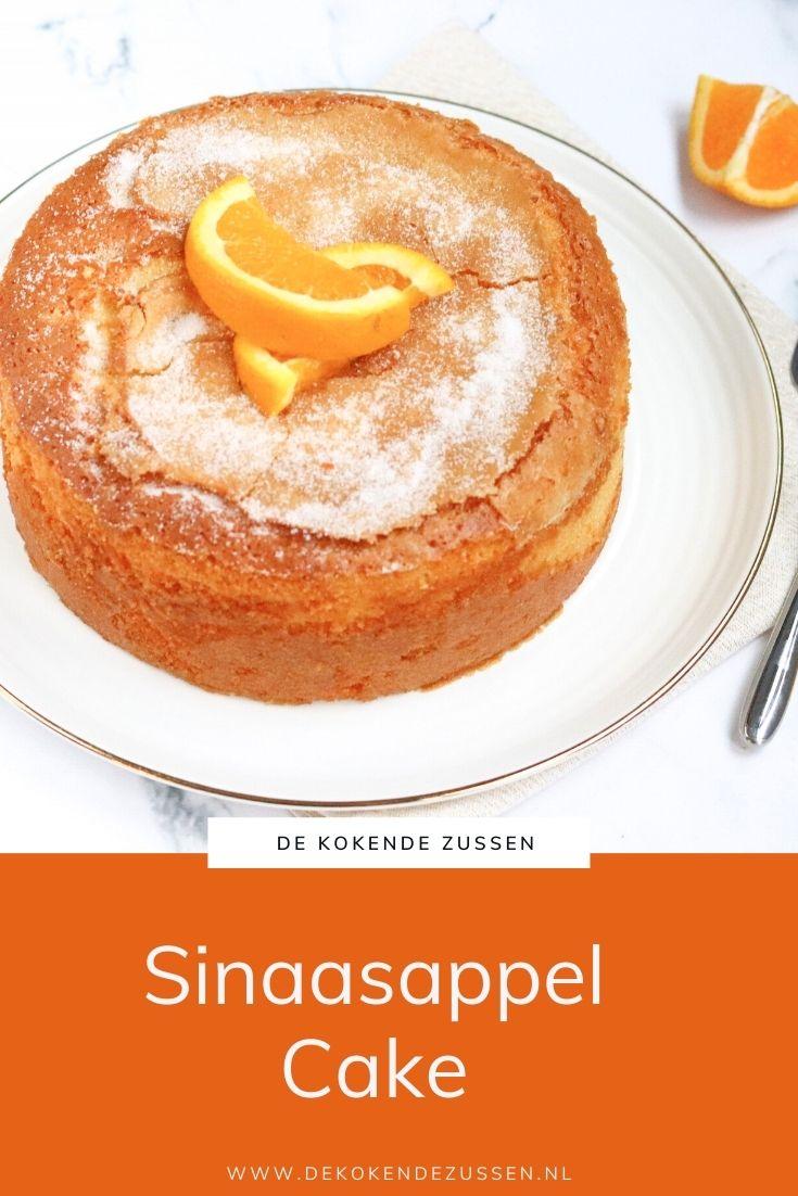 Sinaasappelcake met Olijfolie