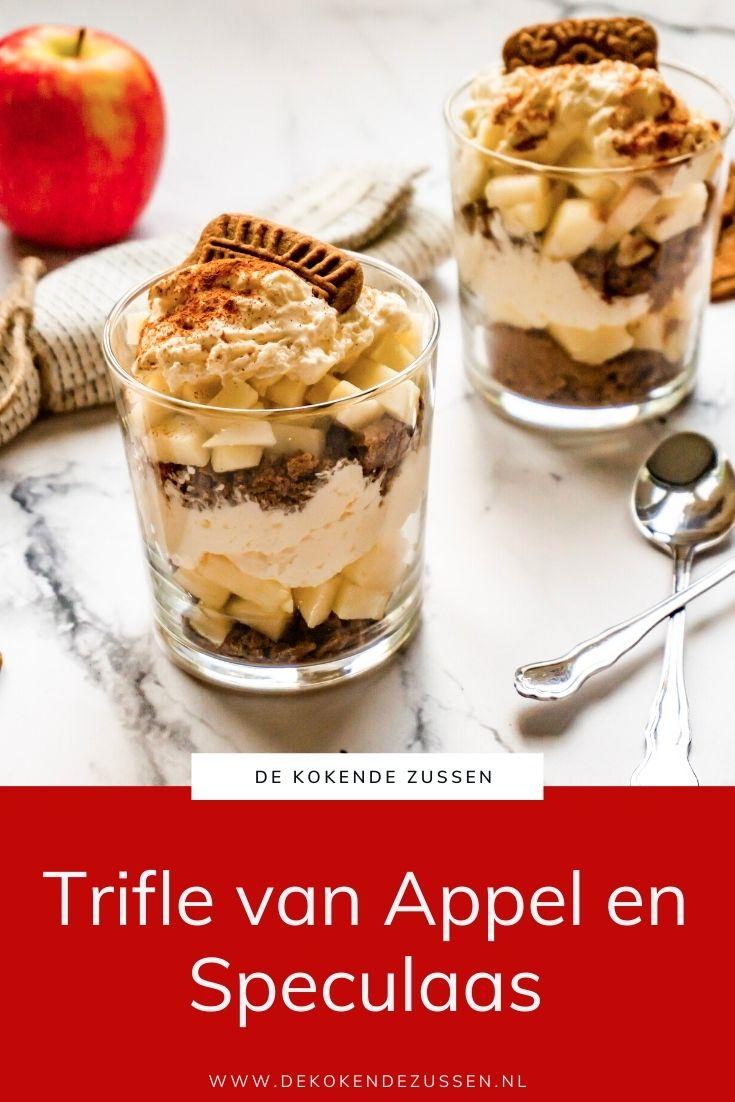 Speculaas Trifle met Appel