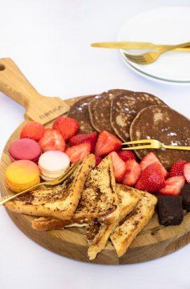 Ontbijtplank voor Moederdag