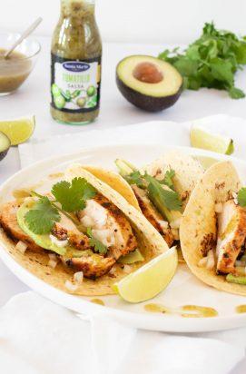 Taco's met Gegrilde Kip
