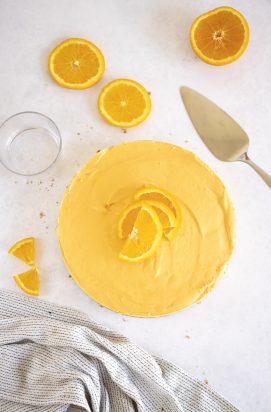 Sinaasappel Kwarktaart