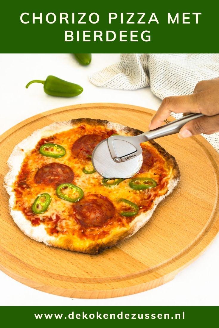 BBQ Pizza Chorizo van Bierdeeg