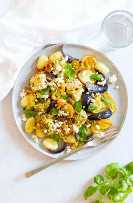 Gnocchi met Citroen Pesto Kip