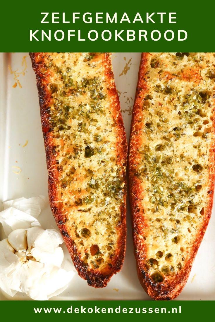 Het Ultieme Zelfgemaakte Knoflookbrood