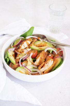 Salade met Krokante Kip