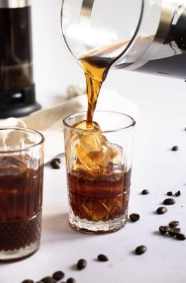 Homemade Cold brew koffie