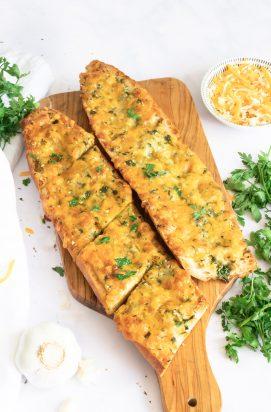 cheesy knoflookbrood