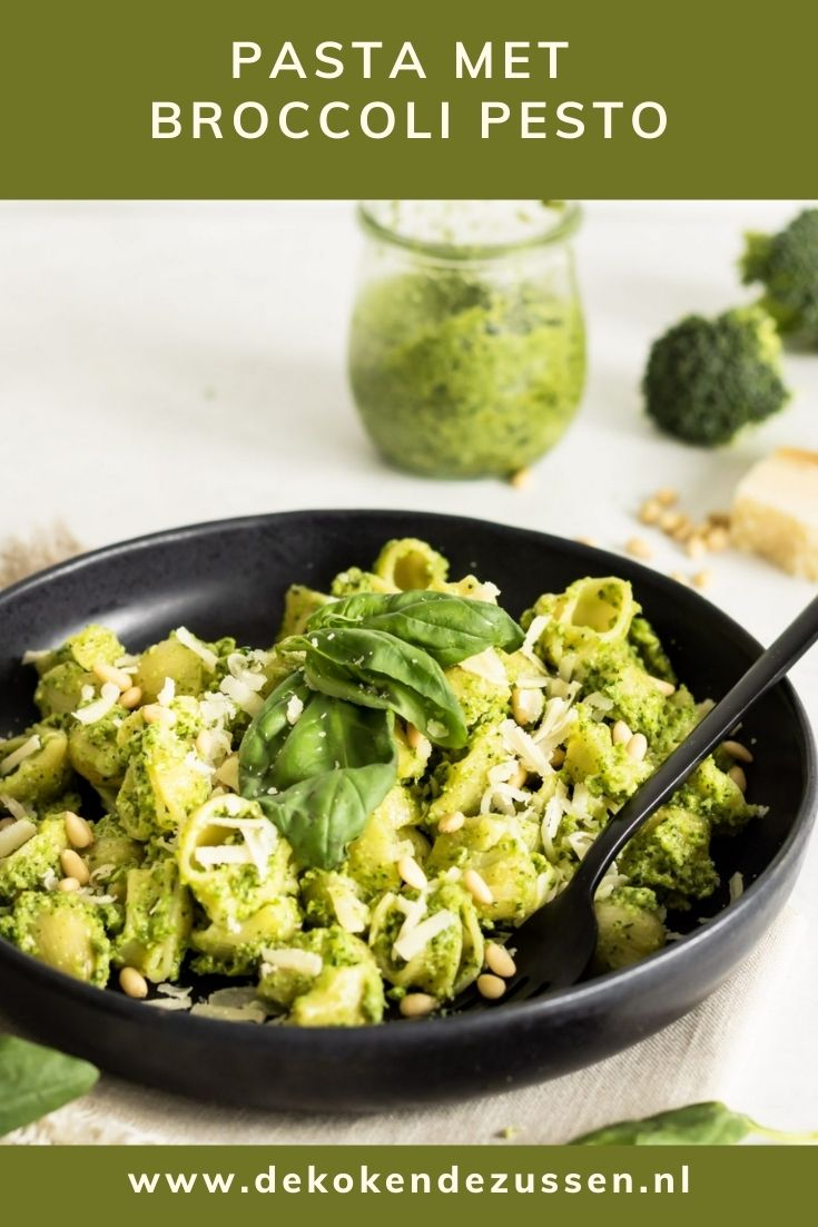 Pasta met broccoli pesto